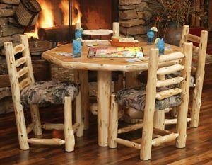 Unique Rustic Cabin Wood Furniture