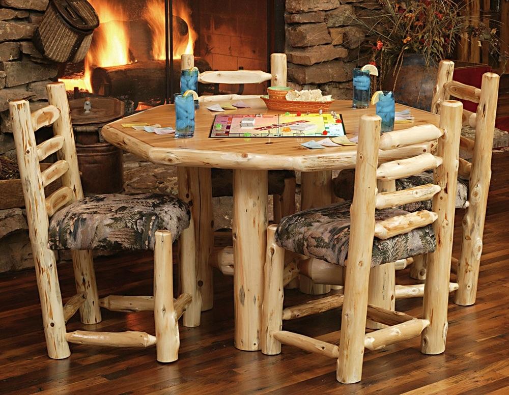 Wood Cabin Furniture