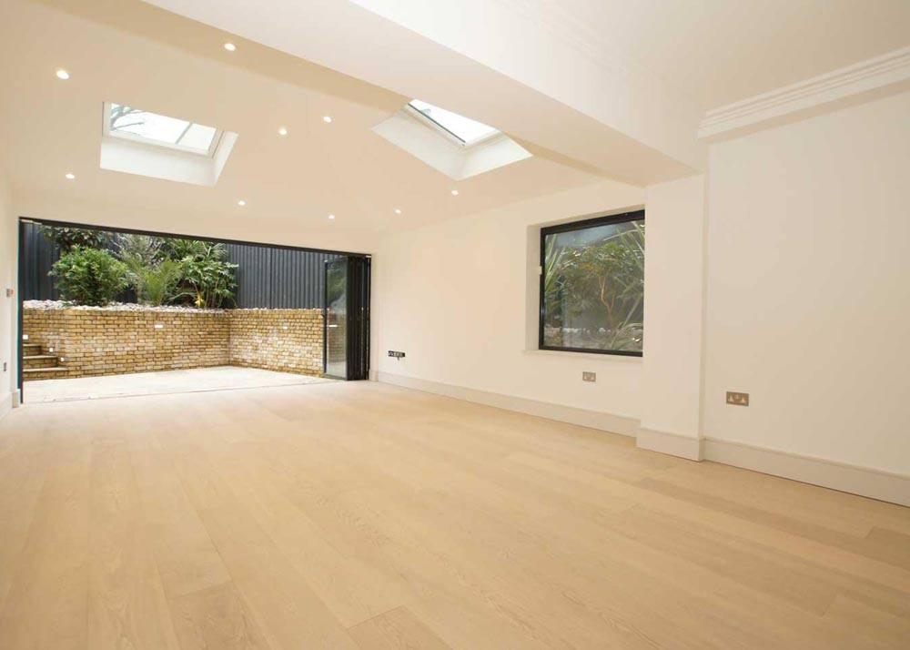 Lacquered Oak Flooring