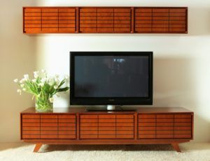 Wooden TV Credenza Furniture