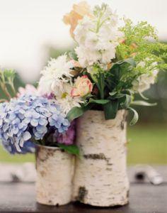 Birch Flower Vases
