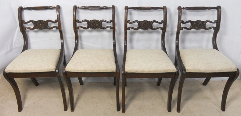 Dark Dining Chairs