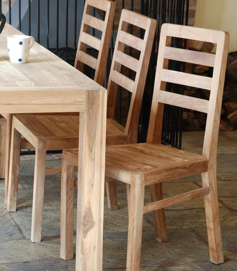 Real Wood Dining Table and Chairs