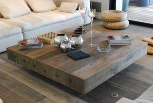 Refurbished Wood Coffee Table