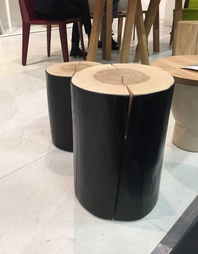 Black Cedar Wood Stools