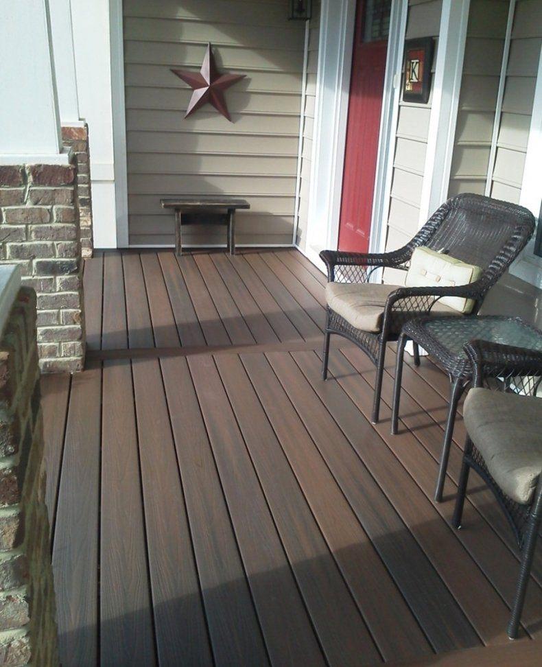 IKEA Outdoor Wood Flooring