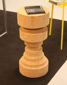 Tall Cork Stool - King and Queen