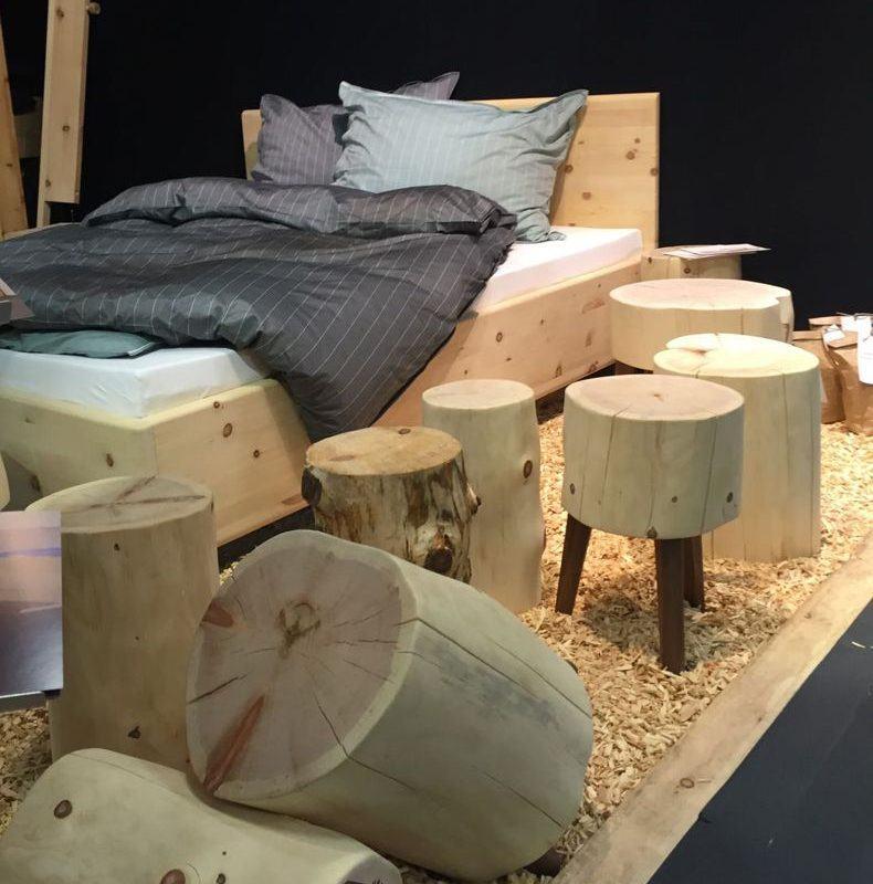 Tree Trunk Wood Furniture Design