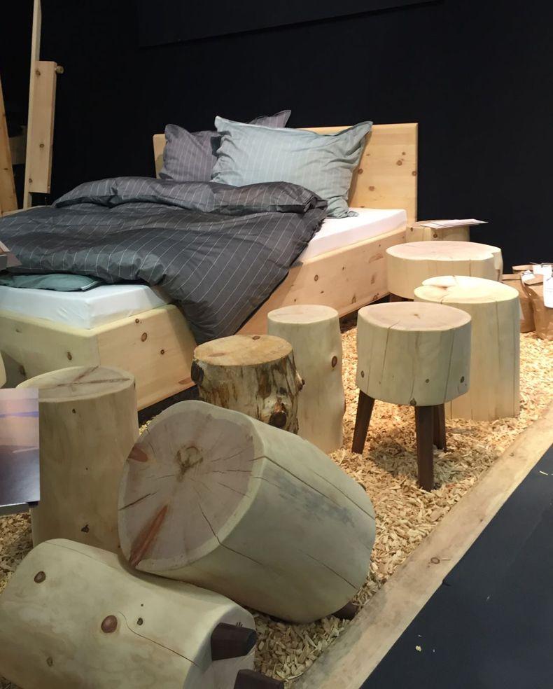 Tree Trunk Wood Table