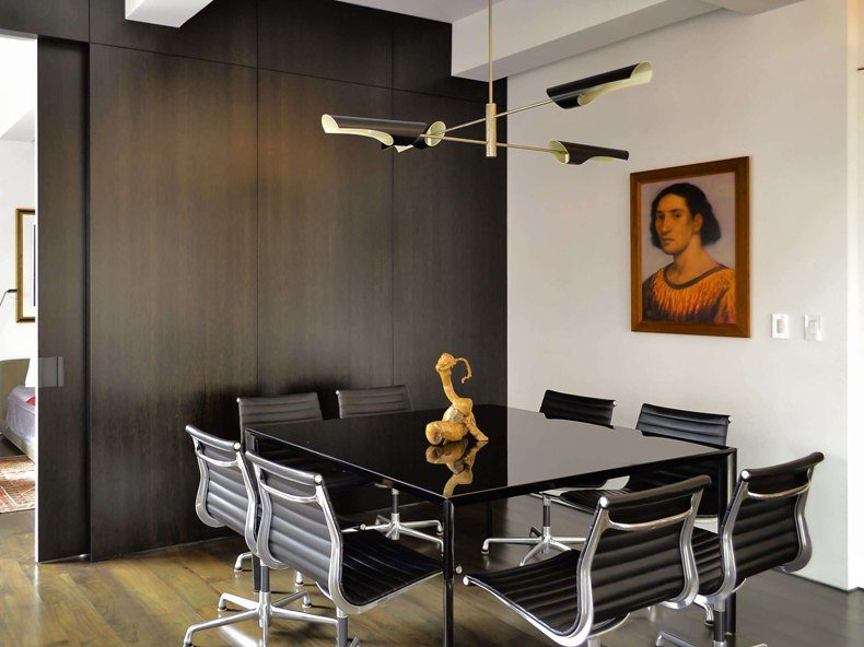 Black and Chrome Dining Sets