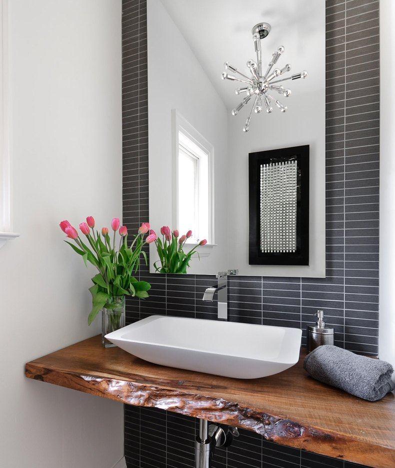 Modern Bathroom Wood