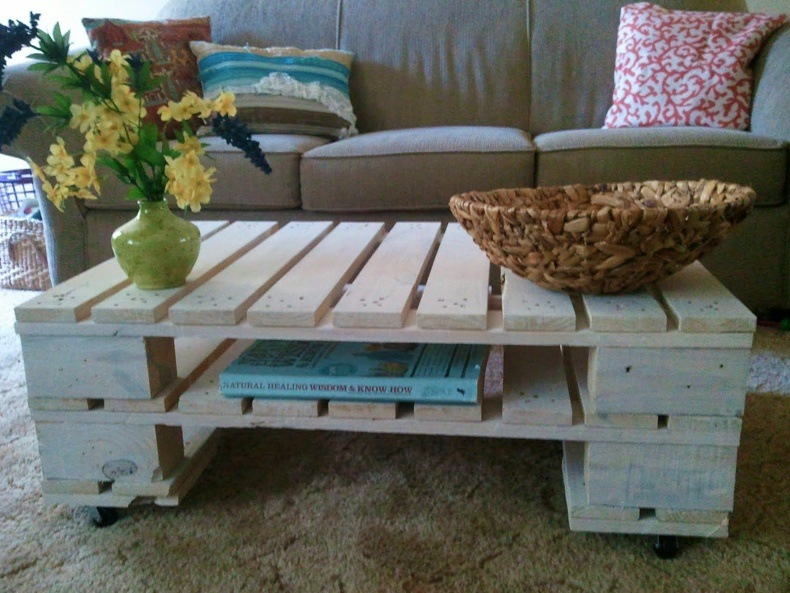 Homemade Rustic Coffee Table