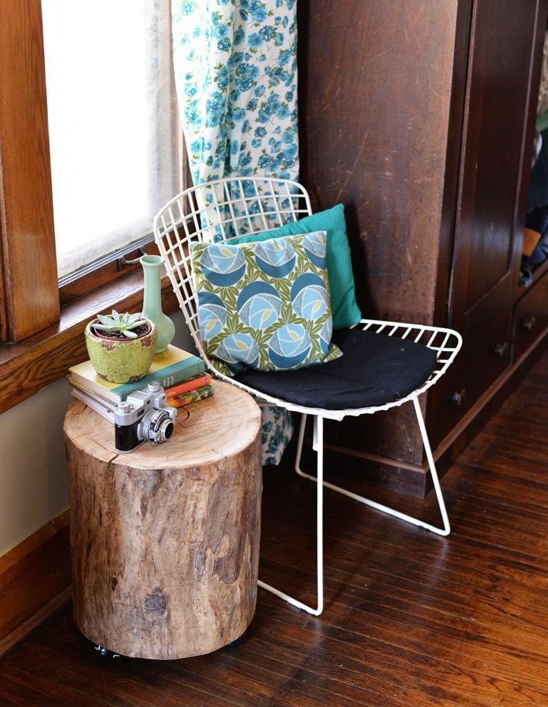 Tree Trunk Console Table