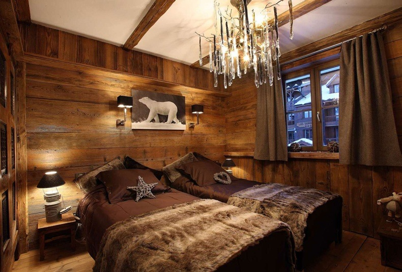 Natural Wood Wall Panels Decoration Ideas for Bedroom