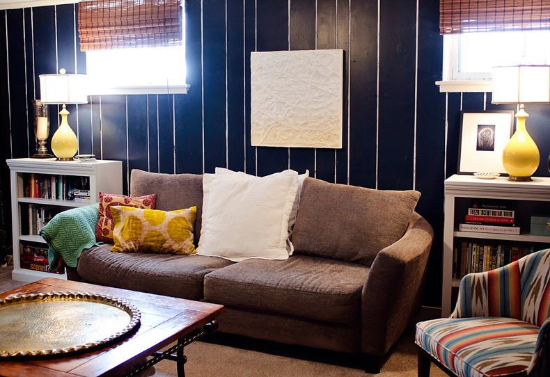 Living Room Paneling Ideas