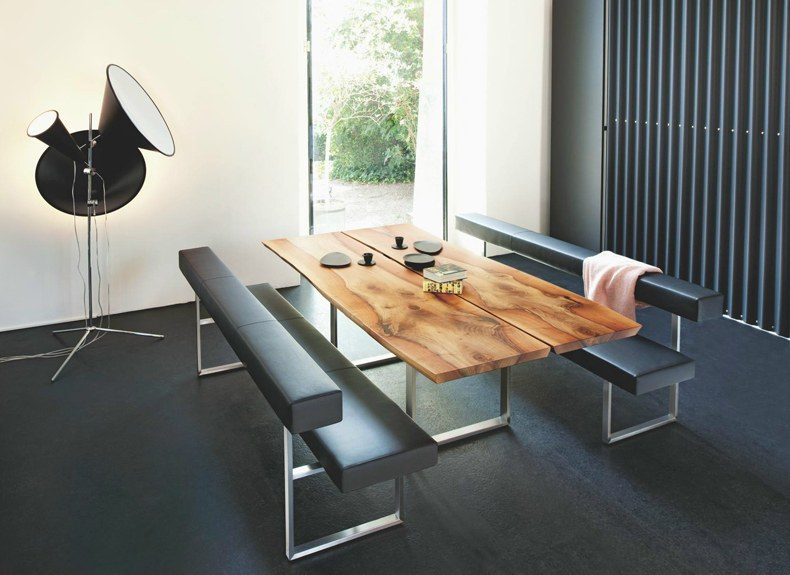 Rustic Modern Dining Table and Chairs
