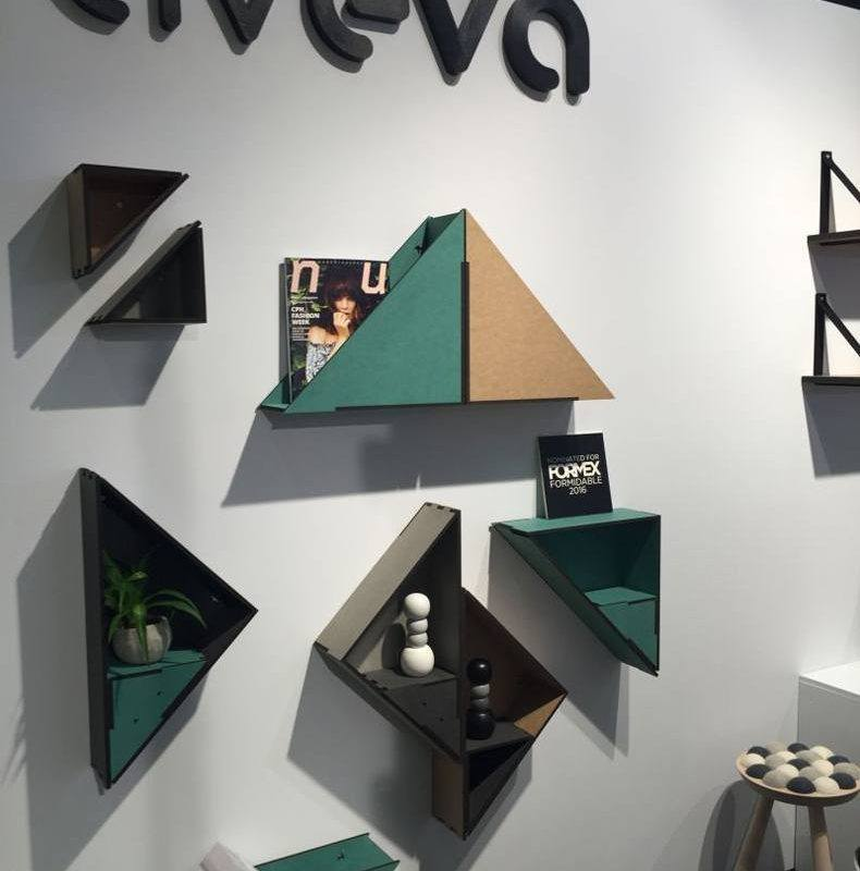 Aveva Raw Triangle Shelf