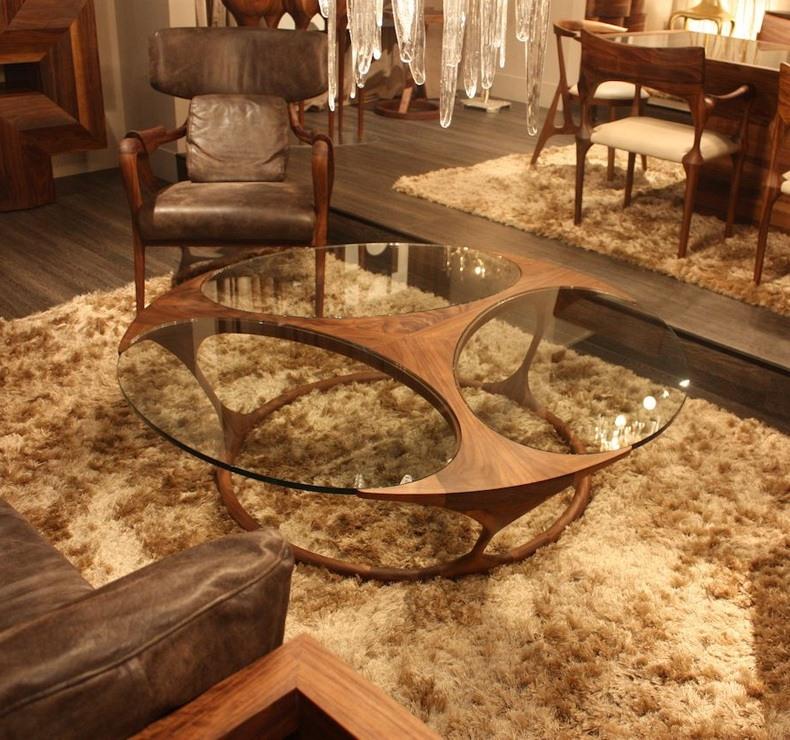 Custom Glass Coffee Table