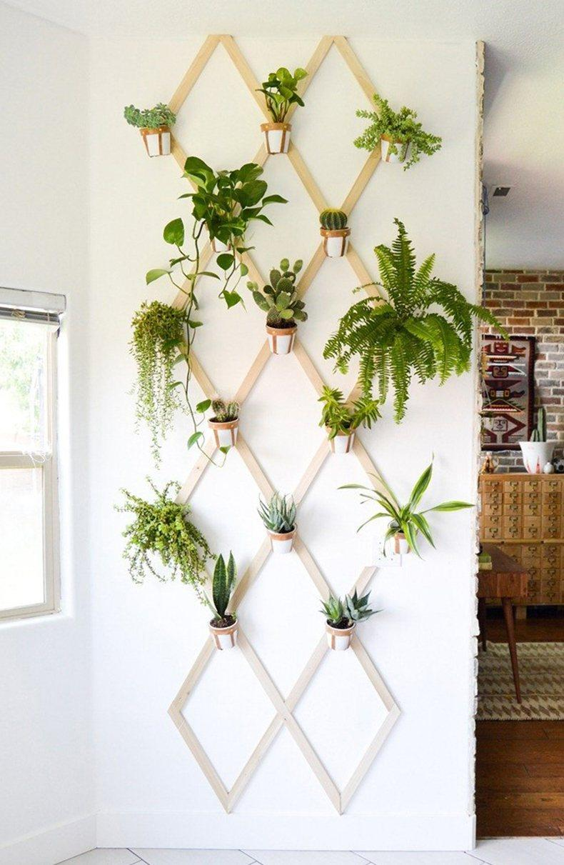 Floating Plant Wall