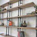 How to Make Rustic Bookshelves Furniture from Repurposed Crates