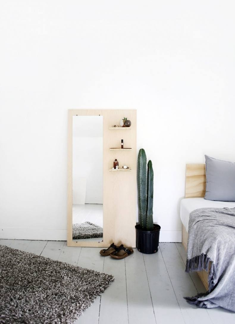 Solid Wood Shelf Board