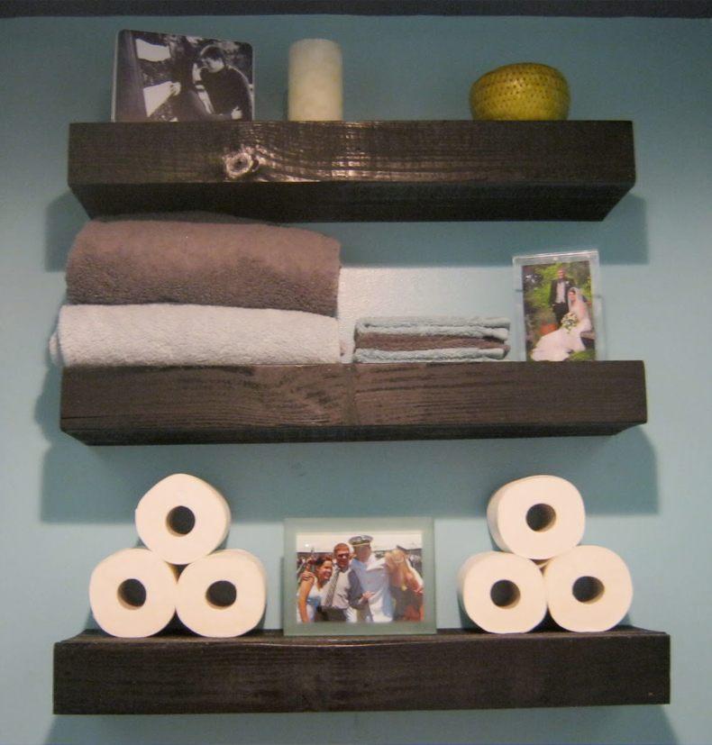 Small Floating Shelves For Bathroom