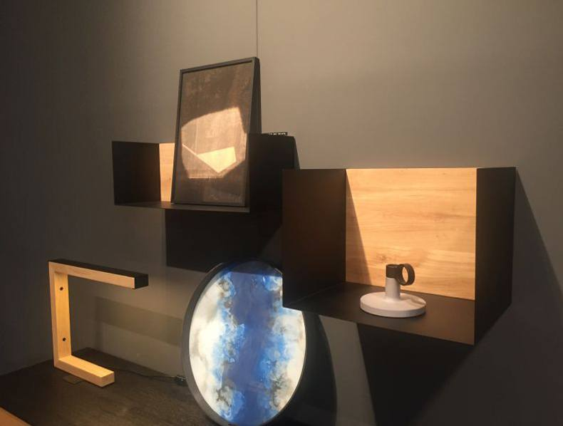 Decorative black box shelves are very versatile from spatial and stylistic view as well.