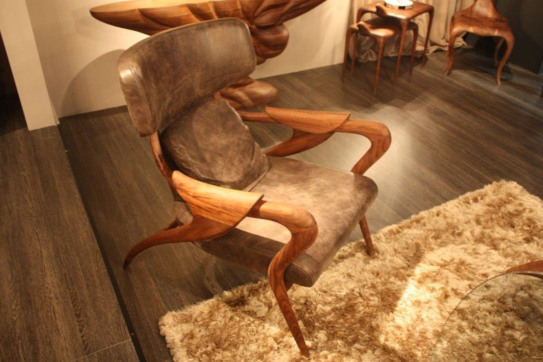 Isadora Wood Chair From Camus