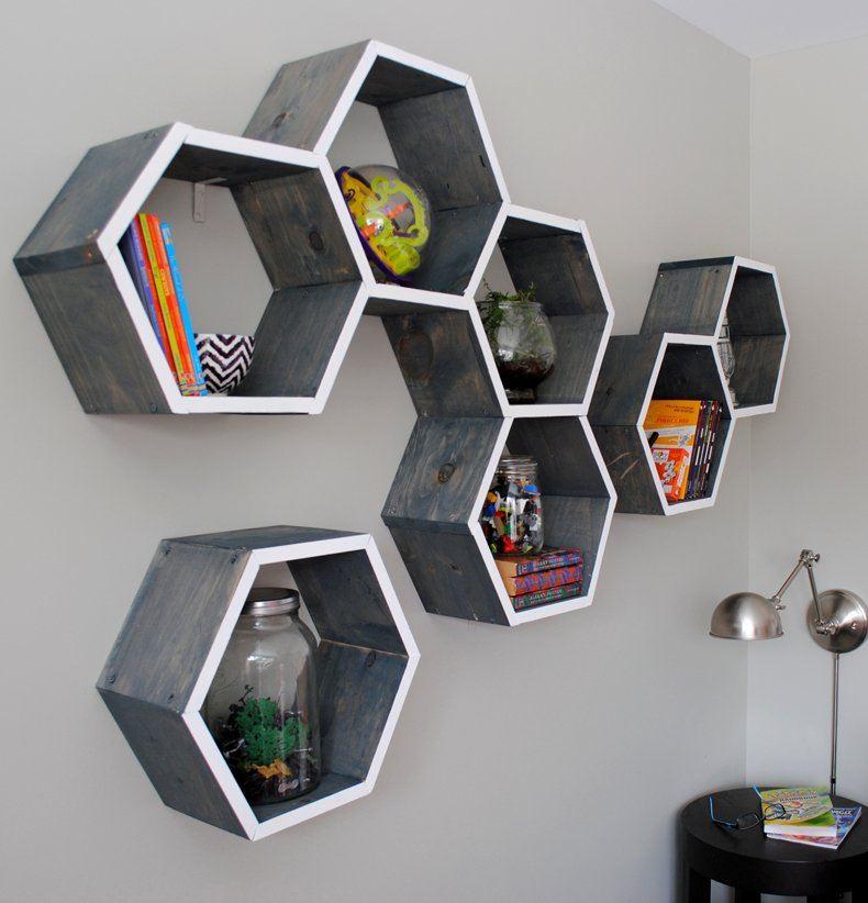 Honeycomb Storage Shelves