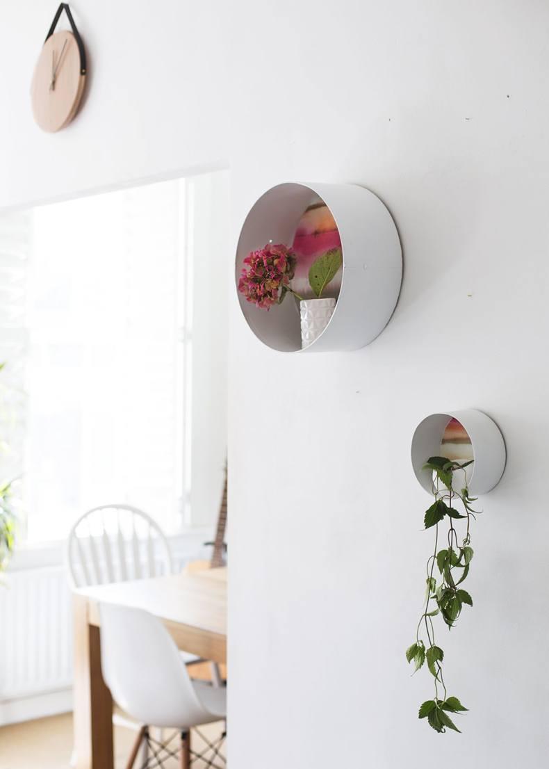 Wall Circle Shelf