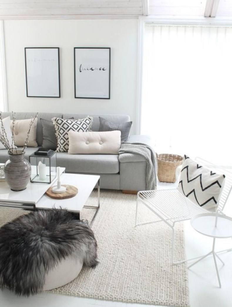 Scandinavian Living Room Design Ideas