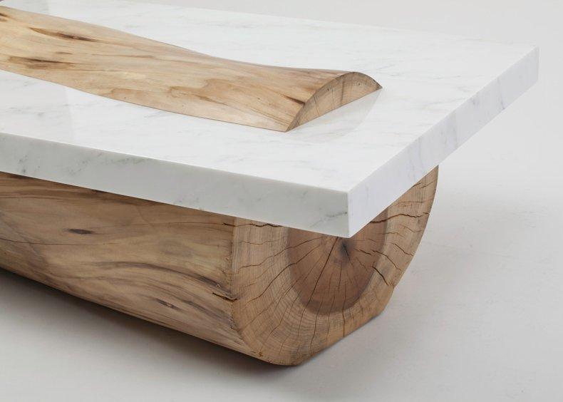 Sculptural Coffee Table By Marc Englander Gessato