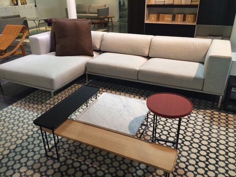 Asymmetrical Living Room Design