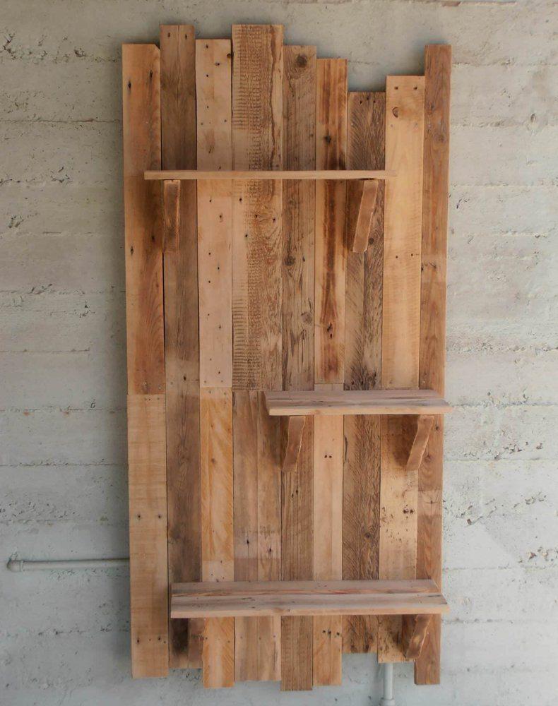 Wood Pallet Shelf Board