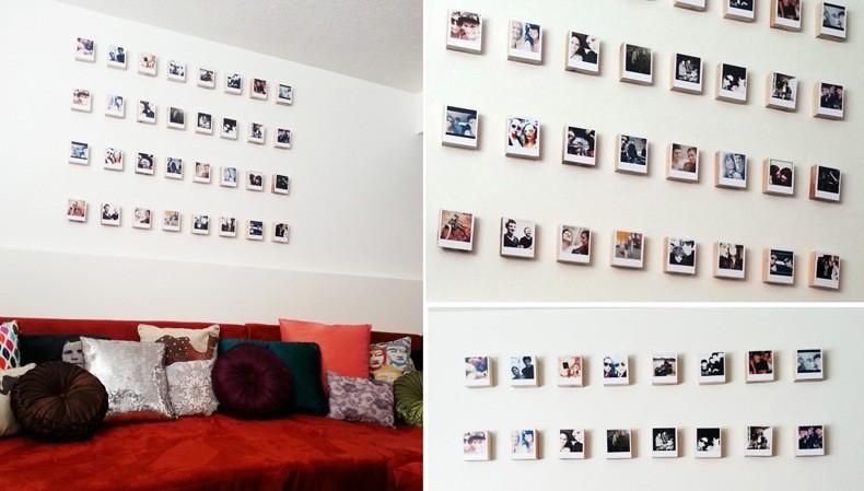 Polaroid Quilt Pattern