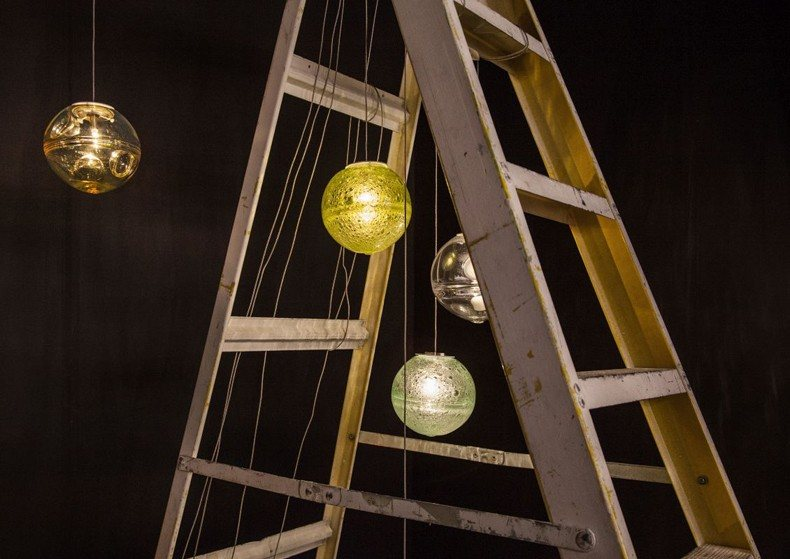 Hanging Ladder With Lights