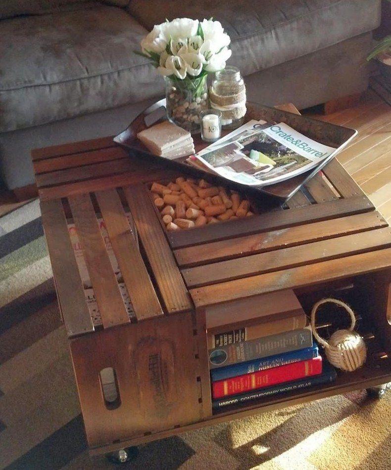 Vintage Pallet Coffee Table