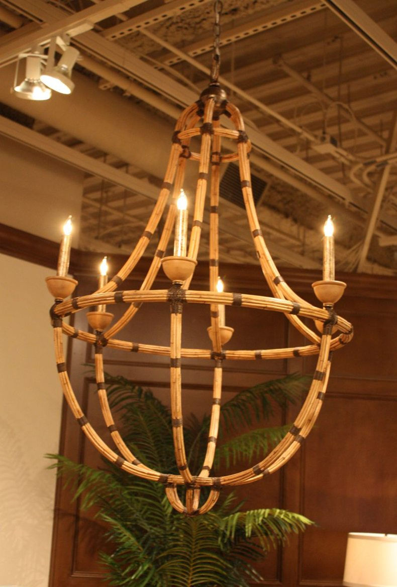 Bamboo Chandelier Design Eco