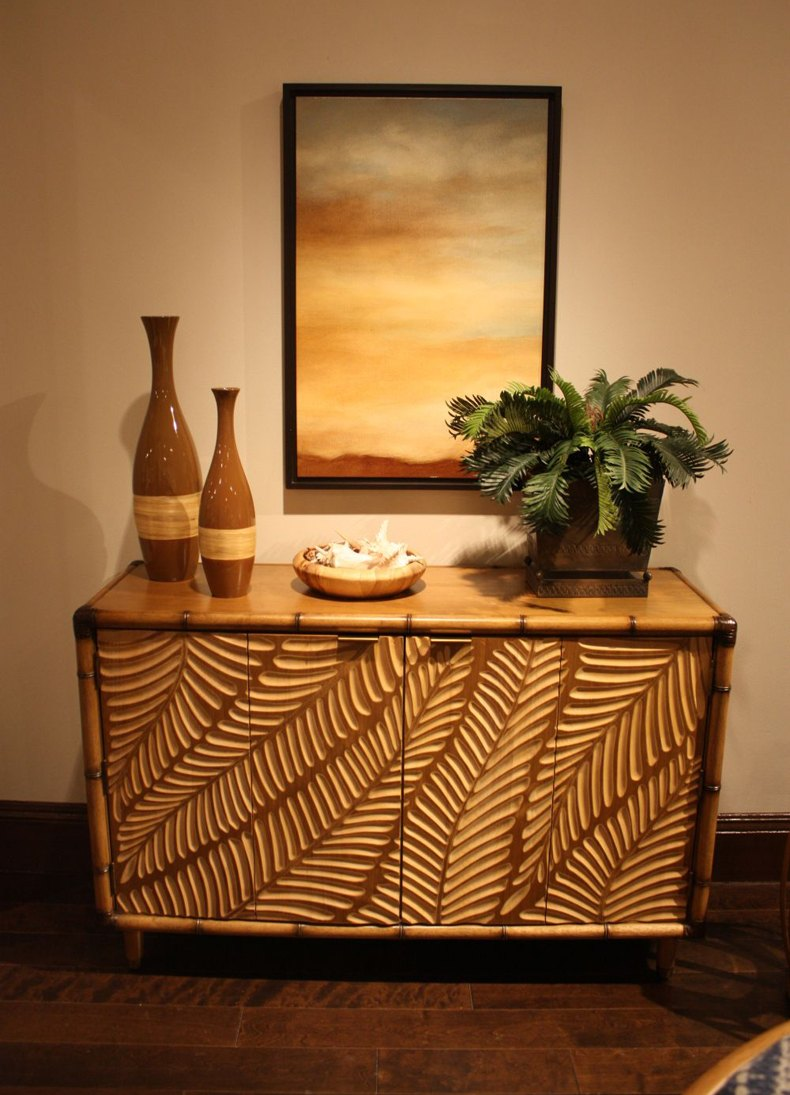 Probably you have already heard of custom white bamboo side table.