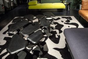 Borghese Black Coffee Table