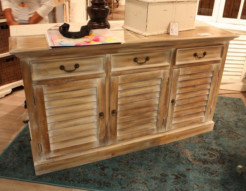 Distressed Wood Sideboard