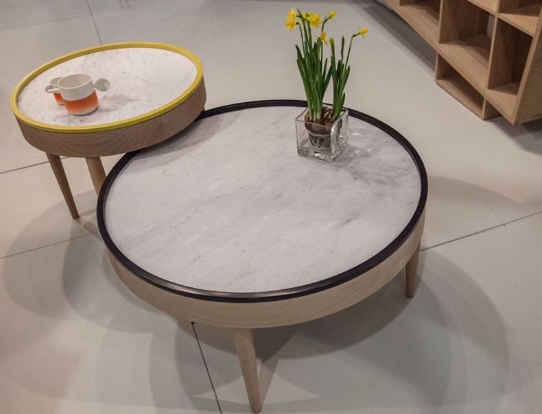 Coffee Table Round Shape