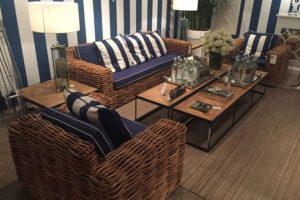 Create A Nautical Living Room With Rattan Furniture