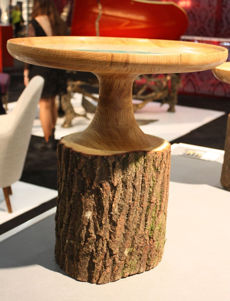 Tree Stump Coffee Table DIY