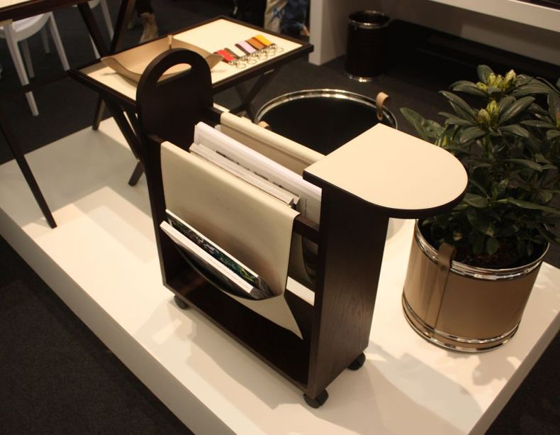 Magazine Rack On Wheels