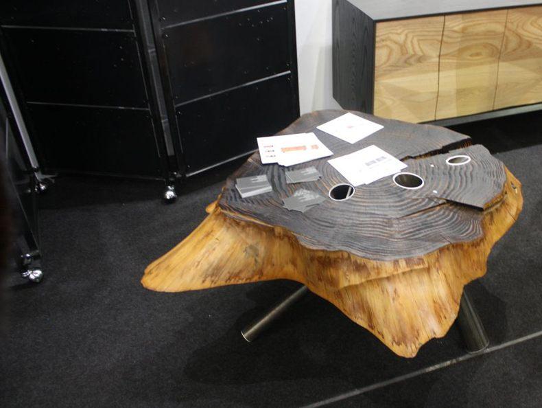 Tree Base Coffee Table