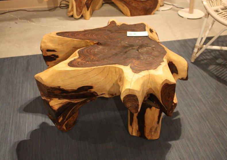 Unfinished Oak Coffee Table