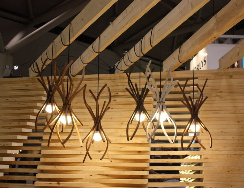 Wooden Pendant Lights for Kitchen
