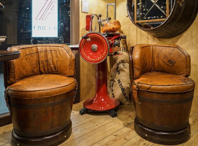 Antique Wine Barrels