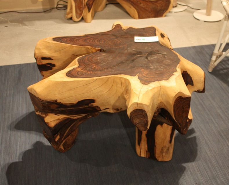 Rustic Live Edge Coffee Table